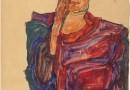 Egon Schiele. Vienako Albertina Museum-eko artelanak
